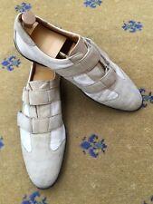 ace175ae8fa Gucci Sneaker Uomo Scarpe da ginnastica tela beige scamosciati tg UK 13 US  14 EU 47