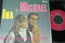 INA & MICHAEL Frech zum Verlieben / DDR SP 1971 AMIGA 450810
