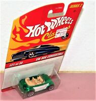 Hot Wheels Classics Series  2  VW Bug Volkswagen   Color: Green & White