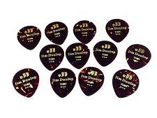 Dunlop Guitar Picks Teardrop Classic Celluloid Thin Shell 12 Pack