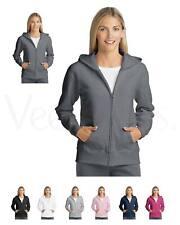 Hanes Women Comfortsoft Ecosmart Full-Zip Hoodie Sweatshirt,O4637,S-2XL