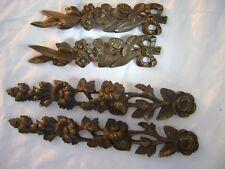 4 bronze dorés empire pour meuble - Pieces anciennes vers 1850