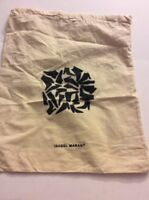 Pre-Owned Small Size Isabel Marant Ivory Cutton Dust Bag EUC