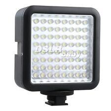 64 LED Video Light Lamp for DV Camcorder EOS Camera Canon Nikon Sony