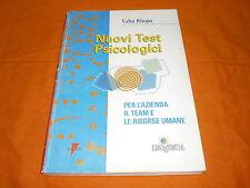 nuovi test psicologici x l'azienda,il team ,le risorse umane 1998