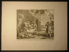 William Hogarth England Etching 1756