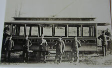 USA279 - 1891 UNION RAILWAY Co - NEW YORK - TROLLEY Car No10 PHOTO - USA