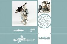 "3A ThreeA Ashley Wood Action Portable WWRp DEEP COMM CAESAR 1/12th 7"" Figure"