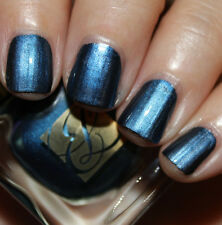 ESTEE LAUDER Nail Polish MIDNIGHT METAL 02 Blue Glitzy Chrome Vernis LTD BNIB!!!