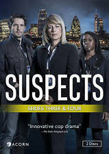 Suspects, Series 3 and 4 NEW DVD FREE SHIPPING!!!
