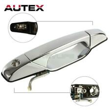 Chrome Outside Front Left LH Door Handle for Chevrolet Silverado 2500 HD 07-14