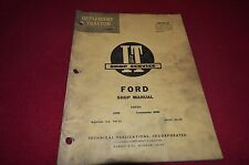 Ford 6000 Commander 6000 Tractor I&T Shop Manual BVPA