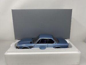 1/18 Minichamps 1971 BMW Dealer Exclusive CSi 3.0 Blue  Part # 80430404077 RARE