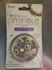 Darice Mix And Mingle Metal Lined Beads Bracelet Kit