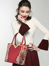 Exquisite Sequined Hand Bags For Women - Wine Red (ESG070571)