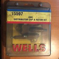 WELLS 15597 AMC DISTRIBUTOR CAP & ROTOR KIT