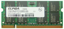 2GB DDR2-667 PC2-5300 200pin ELPIDA LAPTOP NOTEBOOK SODIMM RAM MEMORY SPEICHER
