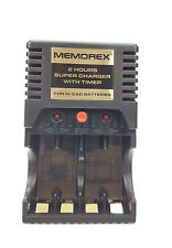 9Memorex AA Battery Charger Quick 2hr For Rechargeable Batteries AA New Free P&P