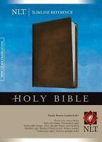 Slimline Reference Bible-NLT (Leather / Fine Binding)