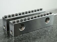 Cnc Mill Dovetail Vise Jaws For Kurt Chick 6 With 011 High 45 Deg Step