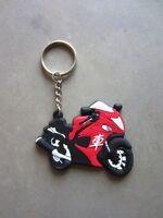 Key Keyring Keychain Keyfob for: SUZUKI HAYABUSA GSXR 1300 GSX1300R GSX BUSA