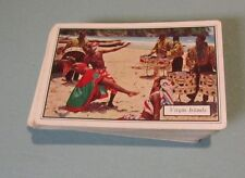Vintage Virgin Islands Beach Band Esso Gas & Oil Drum Set Playing Cards Deck