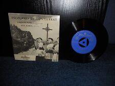 """7"""" 45rpm EP Escolania De Montserrat - Laudate Pueri Dominum / Ave Maria"""