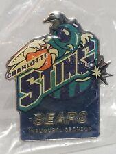 Wnba Sears Sponsor Charlotte Sting Inaugural Pin