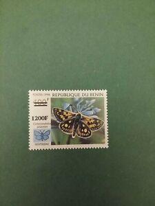 Bénin surchargé overprint Papillon 1200f sur 400f neuf MNH