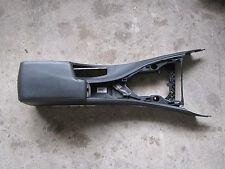 BMW 3er E90 E91 LCI Mittelkonsole Mittelarmlehne Leder Dakota schwarz