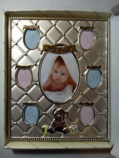 Lenox Baby's First Year Collage Silver-plate Picture Frame MSRP $43.00