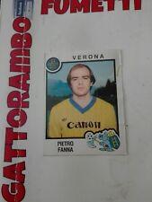 Figurine Calciatori  - N.343 Fanna Verona  Con Velina- Anno 1982-83 Panini