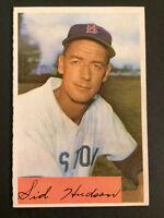 1954 Bowman #194 Sid Hudson Boston Red Sox Vintage Baseball Card EX