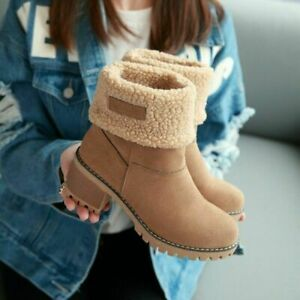Womens Boots Female Winter Shoes Snow Boots Warm Women's Shoes Ankle Boots