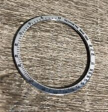 USED OMEGA STEEL BEZEL FOR SPEEDMASTER 145.022 145.012 Tachymetre Base 1000