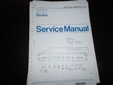 Original Service Manual Philips  22AH270