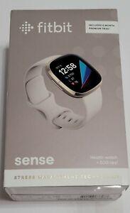 Fitbit Sense Advanced Activity Tracker Smartwatch - Soft Gold