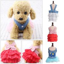 Pet Dog Puppy Ballet Skirt Clothes  Dog Chihuahua Dress TUTU Cat UK Coat Apparel