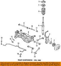 H38028380C Mazda Rubber mountng rear H38028380C