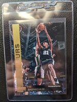 1997 98 UD GOLD KELLOGGS REDEMPTION TIM DUNCAN ROOKIE CARD SAN ANTONIO SPURS HOF