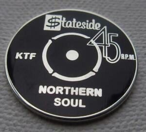 NORTHERN SOUL BADGE - STATESIDE - NORTHERN SOUL