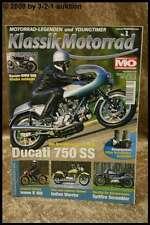 Klassik Motorrad 1/08 Ducati 750 SS Indian Warrior Imme R 100 BSA Spitfire Scram