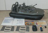 1984 GI Joe Killer Whale Hovercraft & Cutter w/ Blueprints *99.9% Complete READ*