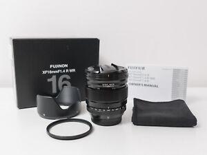Fujifilm XF16mm F1.4 R WR Fuji Lens ~Mint Condition