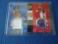 2007-08 fleer ultra DUAL GAME USD JERSY CARON BULTER AND CHRIS BOSH