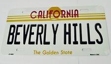 USA Auto Nummernschild License Plate Deko Blechschild California Beverly Hills
