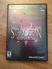 Star Ocean Till The End Of Time Ps2 PlayStation 2 Sony Rpg SB1