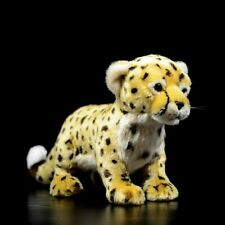 """Plush Cheetah Stuffed Toy Animal Doll Leopard Cat Soft New Gift Toys For Kids 9"""""""