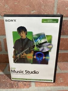 Sony Acid Music Studio - Music Creation and Mixing Software Windows 2000 XP