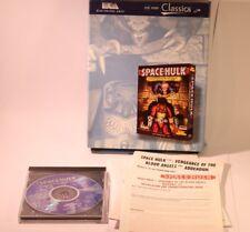 SPACE HULK VENDETTA DEL SANGUE ANGELI BIG BOX VERSIONE PC-CD-ROM GIOCO WIN 95